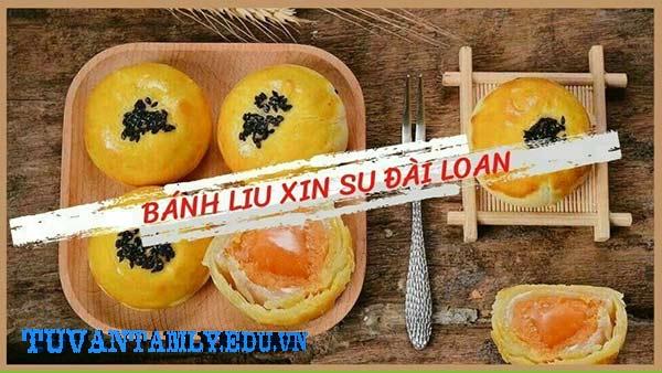 2. Bánh trung thu ngàn lớp Liu Xin Su trứng muối chảy Đài Loan