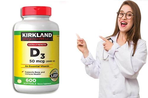 Tác dụng phụ của Vitamin D3 50mcg 2000IU là gì?-3